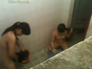 Asian HiddenCam Showers Voyeur
