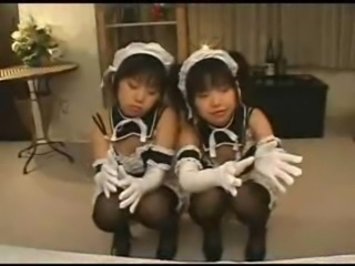 Asian Maid Stockings Teen Uniform