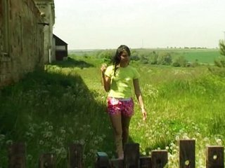 Amateur Farm Outdoor Teen