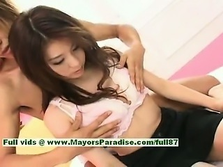 Aya Hirai innocent cute chinese girl is a juicy girl