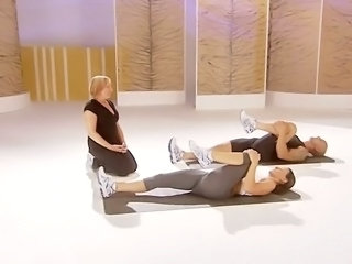 Davina McCall thon arse work out