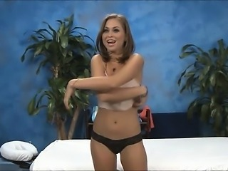 Hot 18 year old Riley gives MORE than just a massage.