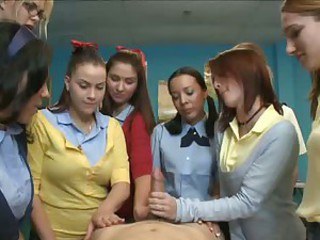 Handjob Student Teen Uniform