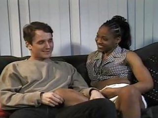 White guy fucking black girl