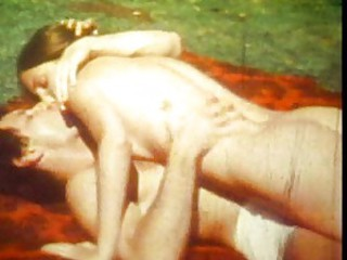Kissing Outdoor Teen Vintage