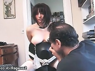 Hot brunette honey gets bound part2