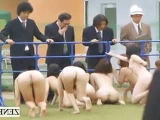 Strange Japanese Bdsm Slaves Out...