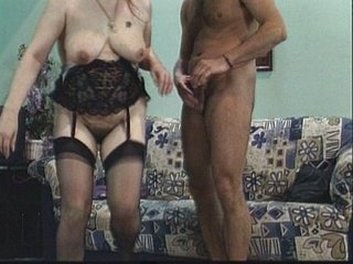 Television technician doing mature pussy