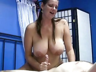 Big Tits Chubby Handjob  Mom Natural Old and Young
