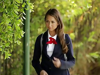 Babe Cute Student Teen Uniform