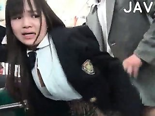 Asian Clothed Doggystyle Hardcore Japanese Student Teen Uniform