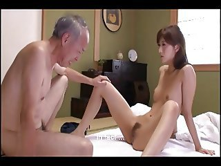 Asian Daddy Daughter Old and Young Skinny Small Tits