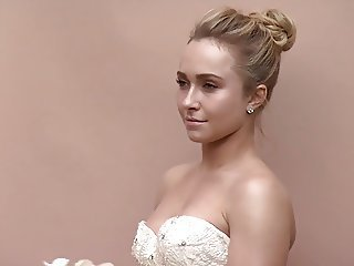 Hayden Panettiere  - Brides Magazine photoshoot