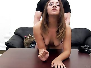 Amateur Anal Casting Cute Doggystyle Teen