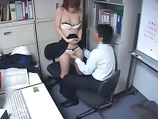 Asian HiddenCam Office Voyeur
