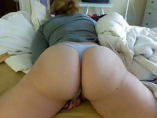 Amateur Ass  Homemade Masturbating  Panty Wife