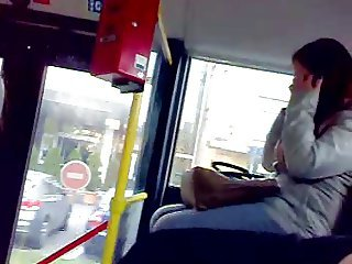 in bus masturbation