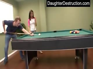 Sweet teen daughter fucks like a pro