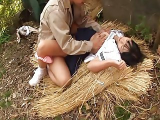Asian Clothed Hardcore Japanese Outdoor Teen