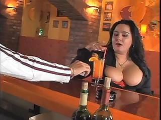 Big Tits Brunette Drunk