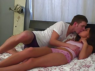Cute Russian Teen Couple Like Good Fuck