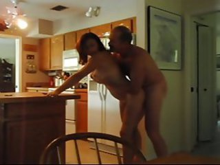 Candi Annie - Quickie Fuck in the Kitchen