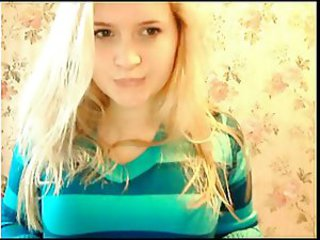 Webcam with hot young russian blonde