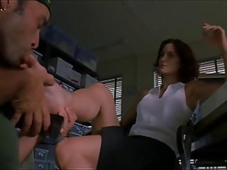 Carrie Ann Moss Feet Scene (Toe Sucking) In The Crew