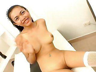 Asian maid fucked by her boss from more2cum.com