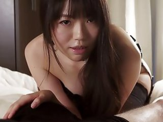 Japonese handjob beautiful