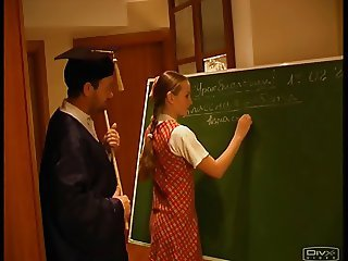 Russian School Student Teacher Teen
