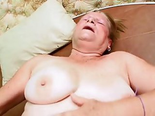 Not Enough Cum For This Old Granny