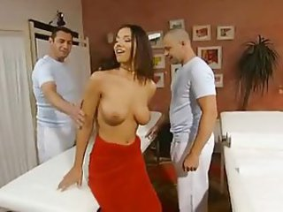 Babe European Massage Pornstar Threesome