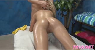 Ass Blowjob Massage Oiled Teen