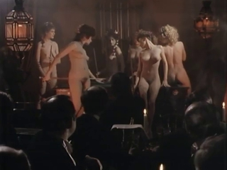 Dancing Erotic Nudist Party Vintage