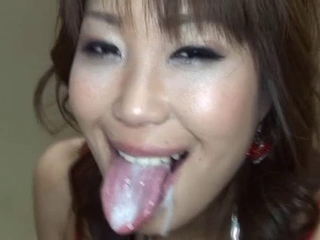 Asian Cumshot Japanese Swallow