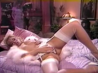 Amazing Lingerie Masturbating  Pornstar Stockings Vintage