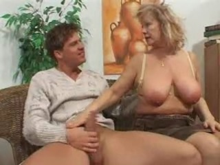 Big Tits European German Mature Mom Natural Old and Young