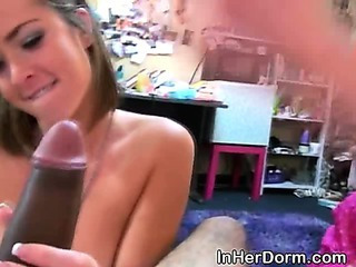 Amateur Handjob Student Teen Threesome