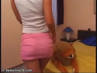 Ass Skirt Teen