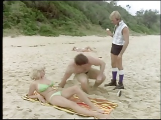 Beach Bikini Groupsex  Outdoor Vintage