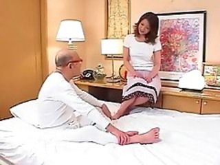Maki Tomoda Old Man And Milf 3