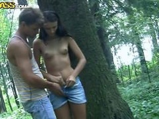 Amateur Girlfriend Outdoor Small Tits Student Teen