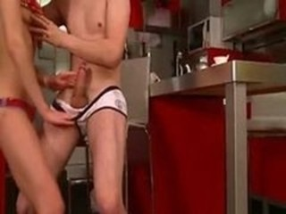 Handjob Kitchen Sister Teen