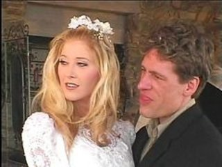 Blonde Bride Cuckold Cute
