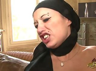 Arab Babe Double Penetration Hardcore Pain Piercing