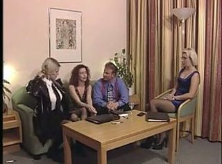 European German Groupsex MILF Stockings Vintage