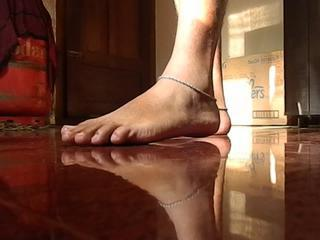My crossdressing feet