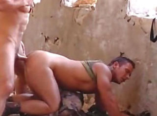 Two Military Gay Guys Suck and Fuck Eachother