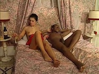 Drunk Interracial Vintage Wife